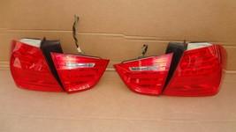 09-11 BMW E90 4dr Sedan Taillight lamps Set LED 328i 335i 335d 328 335 320i image 1