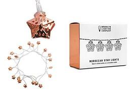 Brooklyn Lighting Company Moroccan 20 LED Star String Lights, Decorative... - $18.03