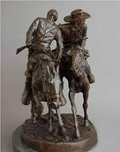 Artistic Solutions Wounded Bunkie American Bronze Handmade Sculpture By Frederic - $1,959.95