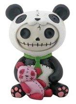SUMMIT COLLECTION Furrybones Pandie Signature Skeleton in Panda Bear Costume wit - $14.29