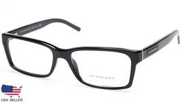 NEW BURBERRY B 2108 3001 BLACK  EYEGLASSES GLASSES FRAME 54-16-140 B34mm... - $103.93