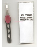 Tweezer Pink Silicone Expert Grip w/Precision Slant -Stainless Steel - $8.86