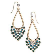 Avon Rhinestone Ombre Mesh Earrings - $8.99
