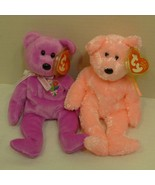 TY Beanie Babies Two (2) Beanies: Mother 2004 and Sherbet - $15.98