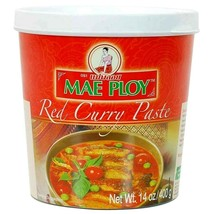 Mae Ploy Red Curry Paste 14 oz - $5.89