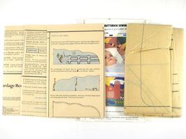 Vtg Butterick 6854 Baby Crib Bumper Mobile Wall Hanging Farm Cow Chicken Duck FF image 5