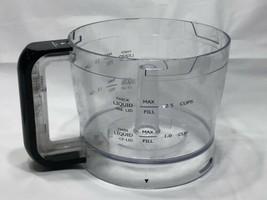 Wolfgang Puck Bistro Food Processor BFPR0035CF Replacement Part Work Bowl - $19.59