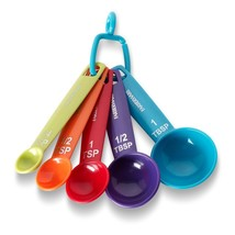 Farberware Color Measuring Spoons, Mixed Colors, Set of 5 - $29.95