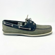 Timberland Classic 2-Eye Boat Gray Mens Size 13 Casual Slip On Shoes 72519 - $64.95