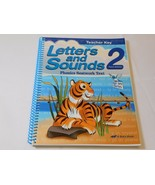 Letters and Sounds Phonics 2 Third Edition Teacher Key A Beka Book Home ... - $31.66