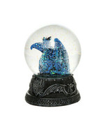 Pacific Giftware Quiksilver Dragon Water Globe with Glitters 80mm Home D... - $9.89
