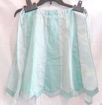 Vintage Apron, Half Hostess, mint green & gingham, Very Retro, detailed ... - $17.99
