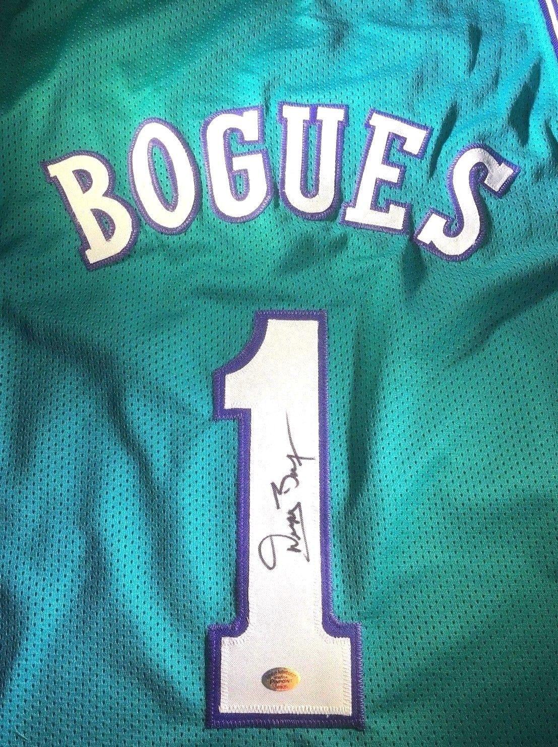8d804de43 muggsy bogues jersey for sale
