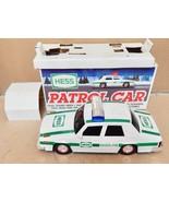 Hess Patrol Car 1993 Mint Original Box Lights & Siren Flashers C Bat NIB... - $14.99