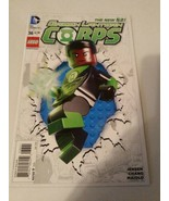 DC Comics Green Lanteen Corps #36 The New 52 Jan 2015 Lego Variant Cover - $9.89