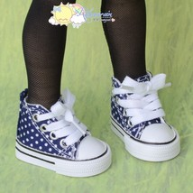 Releaserain Doll Shoes Ankle Sneaker Boot Navy ... - $21.77
