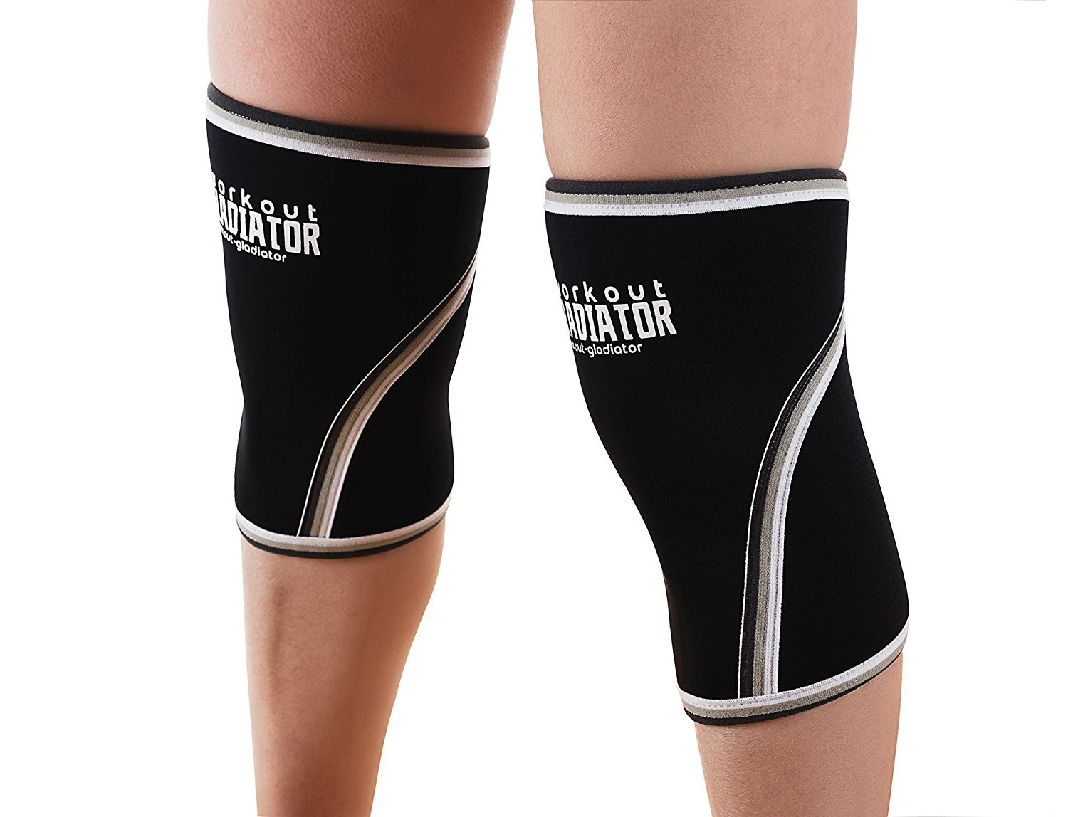 Knee Compression Sleeve Size L 7mm Neoprene Brace Max Support Lifting Crossfit S - $29.99