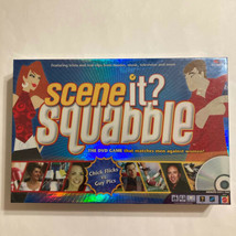 Scene It? Squabble - The DVD Game, Chick Flicks Vs Guy Picks, Adults Par... - $19.99