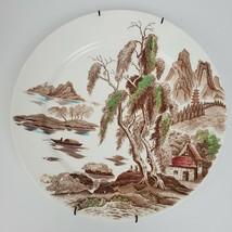 "Vintage Nasco Sayonara Japan 12"" Dinner Plate Oriental Village ART Mid C... - $33.25"