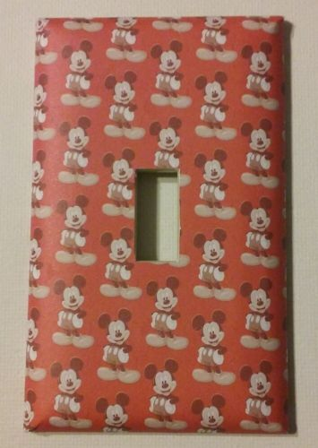 Mickey Mouse Single Toggle Decorative Light Switch Cover Outlet Switch Plate