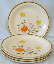 Nikko Field Flowers Salad Plate set of 4 - $28.60
