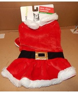 Christmas Dog Costume Mrs Claus Med To Large  20 To 35 Lbs 150T - $8.49
