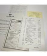 B & K precision model 1077 Dynascan parts list manual (a14) - $9.90