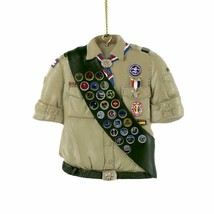 Kurt Adler Boy Scouts Of America Shirt With Sash Ornament - $11.59