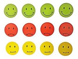 EAST-WEST Trading GmbH Magnete Smile, Emoticon, 12 Stück im Set, - $11.70