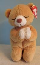 "TY Beanie Babies Baby plush PRAYING BEAR  ""HOPE""  w/Tag  - $9.90"