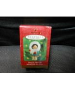 "Hallmark Keepsake ""Bringing Her Gift"" Ornament NEW SEE DETAILS  - $6.68"