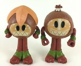 Moana Kakamora Coconut Maracas Rattles Lot of 2 Doll Accessories Disney ... - $17.77