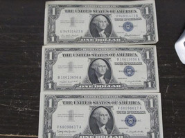 1957, 1957 A and 1957 B Silver Certificate Set - $14.99
