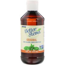 Now Foods Better Stevia Zero-Calorie Liquid Sweetener Original, 8 fl oz (237 ml) - $24.99