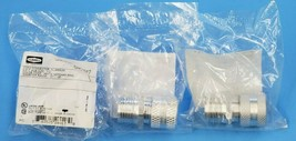 LOT OF 3 NEW HUBBELL SHC1017 CORD CONNECTORS 1/2'' DIA. 031''-.38'' image 2
