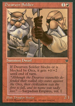 Magic: The Gathering - Fallen Empires - Dwarven Soldier (C) - $0.25