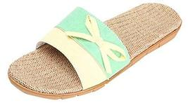 Non-slip Floor Sandals And Slippers Female Slippers Summer M flax slippers