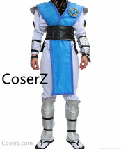 Custom-made  Raiden Costume Mortal Kombat X Cosplay Outfit With Full Set... - £109.39 GBP