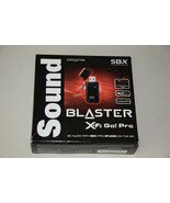 Creative Sound Blaster X-Fi Go Pro 70SB109500000 USB SBX SB1290 Audio So... - $59.99