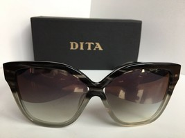 New DITA PRADIS-F 22016-F Gray 60mm Oversized Women's Sunglasses Japan A1 - $325.99