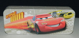 Walt Disney's Cars Characters Tin Catch All Pencil Case Style B, NEW UNUSED - $6.89