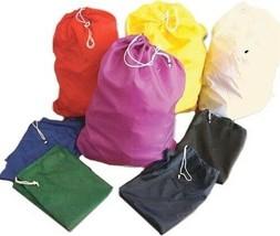 "2 pack Mesh Drawstring Laundry Bag 22"" x 29"" 100% Polyester Free Shipping - $7.91"