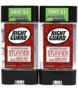 2 Right Guard 4 Oz Best Dressed Collection Stunner 96 Hr Protect Antiper... - $16.99