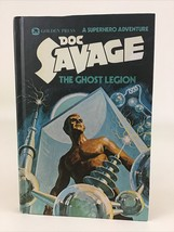 Doc Savage The Ghost Legion Hardcover Book 3 Golden Press Robeson Vintag... - $19.75