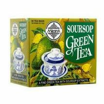 Mlesna Soursop Green Ceylon tea 50 Bags, 100g - $11.39