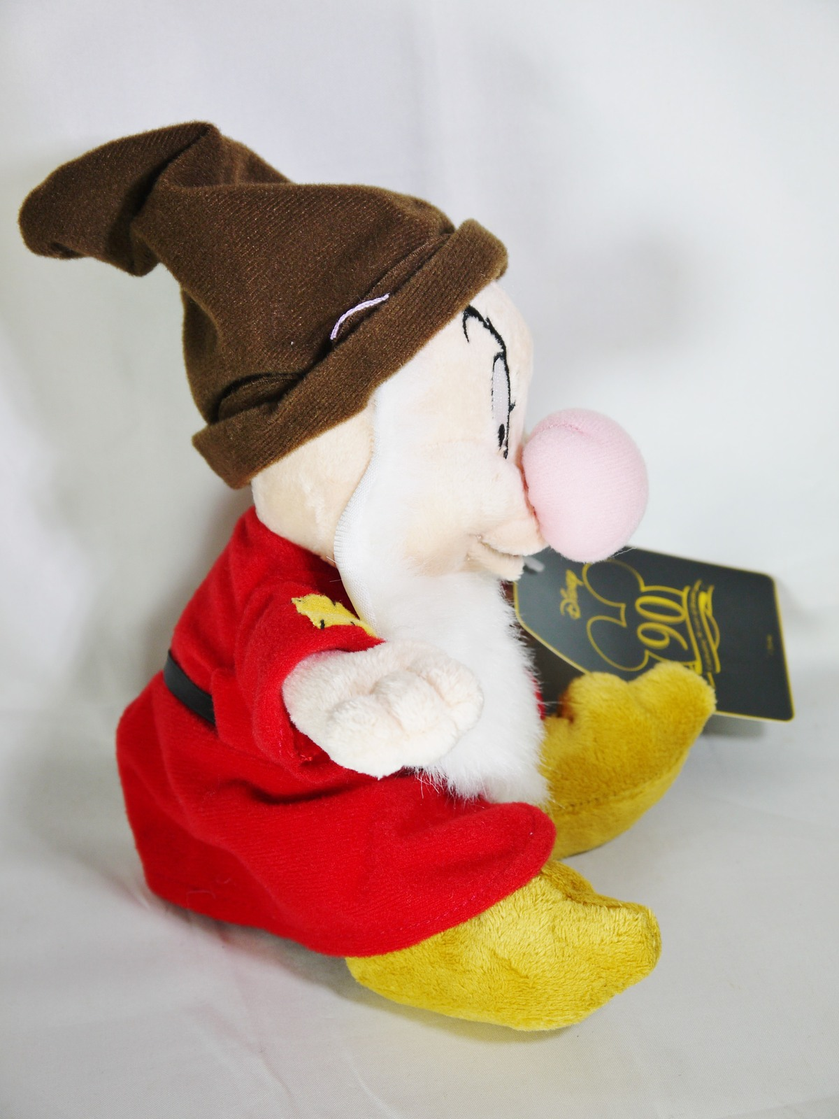 Disney Classic SNOW WHITE & 7 DWARFS Grumpy Plush Toy Small Size