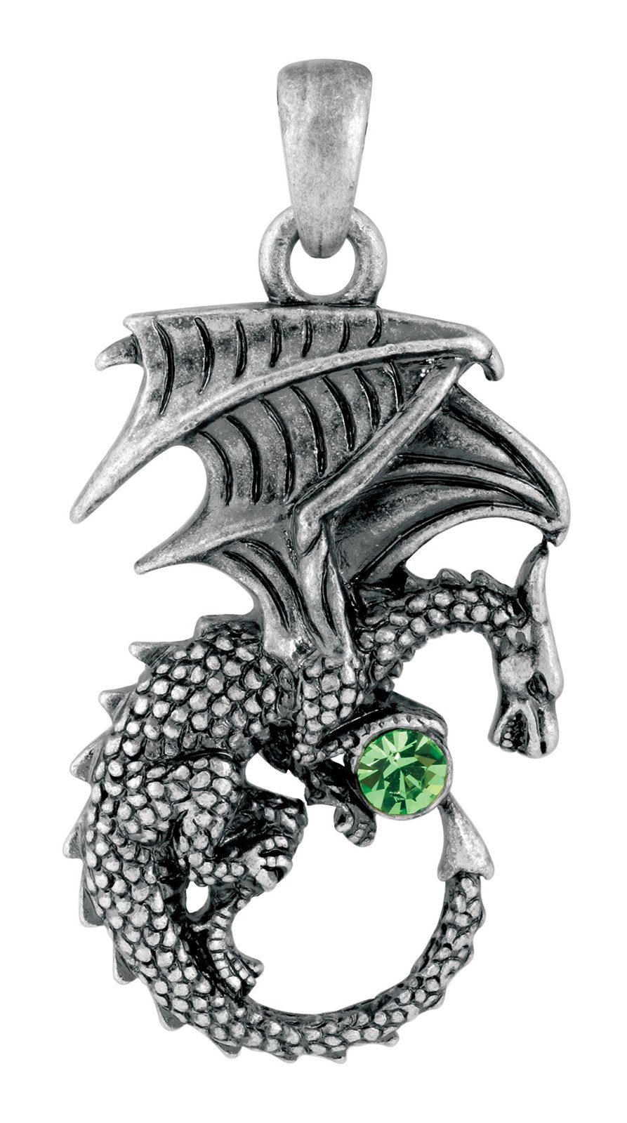 YTC Summit New Green Ladon Dragon Pendant Collectible Accessory Necklace Serpent