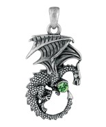YTC Summit New Green Ladon Dragon Pendant Collectible Accessory Necklace... - $10.88