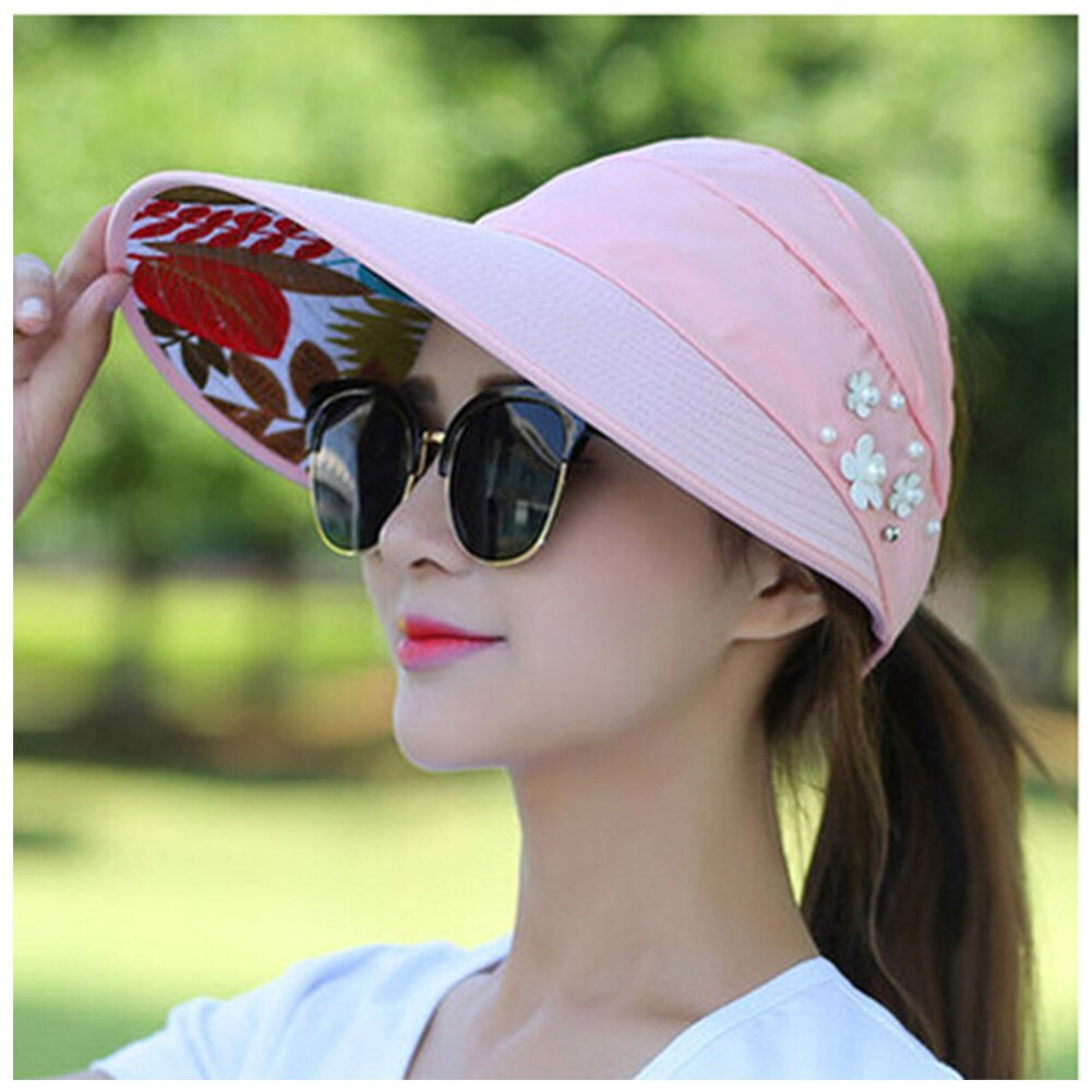 Summer Style Women Foldable Wide Large Brim Floppy Beach Gorro Hats Chapeu Outdo image 5