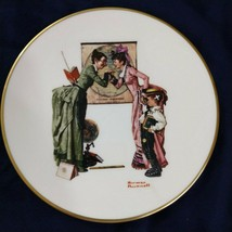 Norman Rockwell's Back to School Plate-1978-Danbury Mint - £21.39 GBP